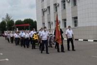 Открытие восстановленного памятника железнодорожникам-участникам Великой Отечественной войны